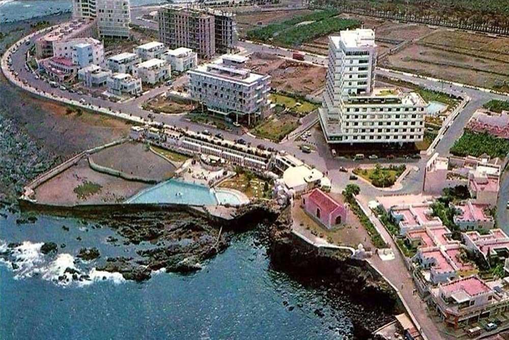 Vista aérea Costa Martiánez