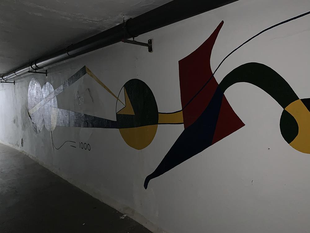 Mural Oculto César Manrique en el Lago Martiánez