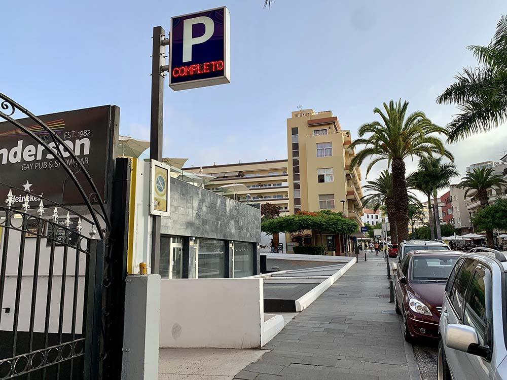 Parking Be Live Experience Orotava